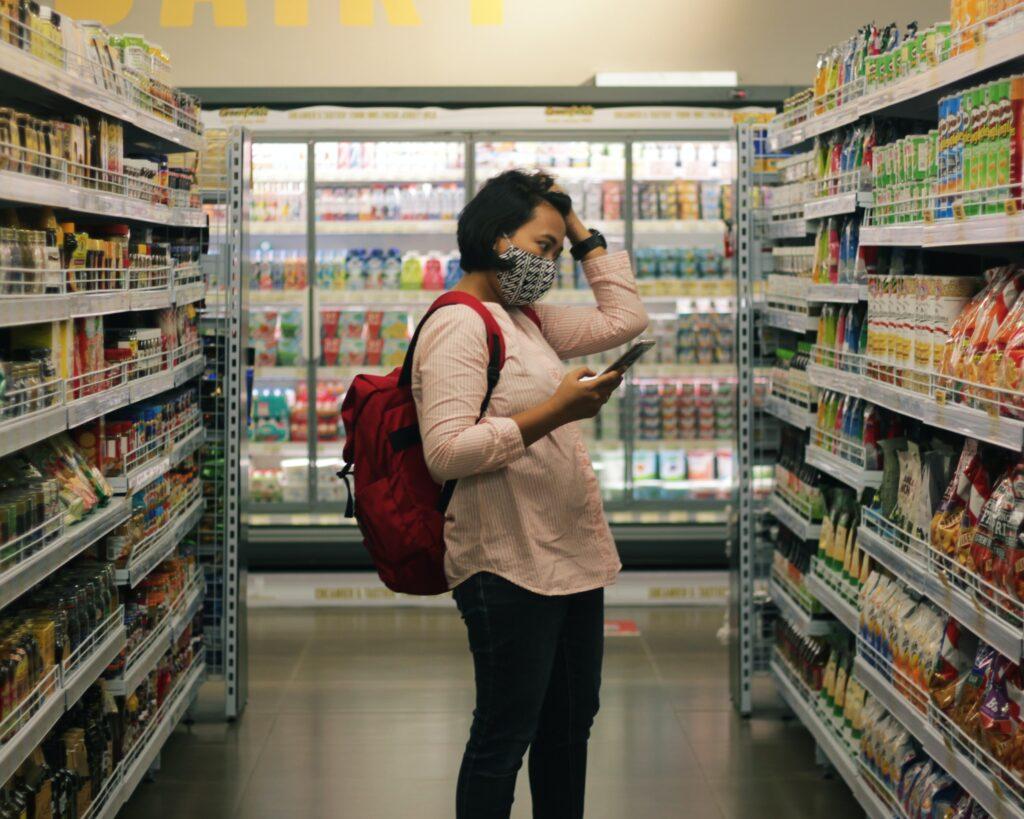 czytanie etykiet spożywczych